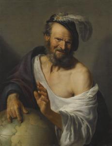 De lachende filosoof Democritus