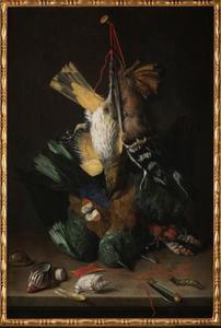 Dode vogels met een zakmes