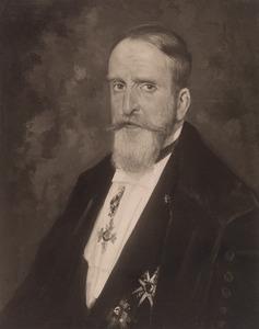 Portret van Jan Simon van der Aa (1863-1944)