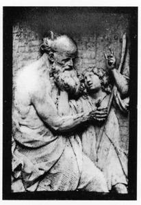 Abraham deelt Isaak de reis naar Moria mede (Genesis 22:1-3)