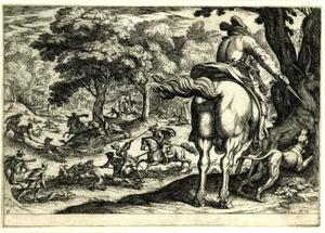 Wolven- en hertenjacht