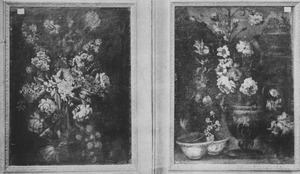 Paar bloemstillevens