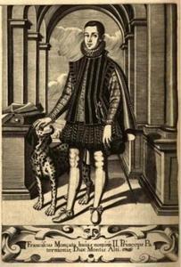 Portret van Franciscus Moncata