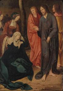 Christus neemt afscheid van Maria