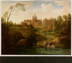Landschap bij Ronciglione