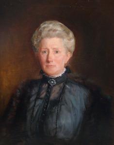 Portret van Bregje van der Veen (1859-1931)