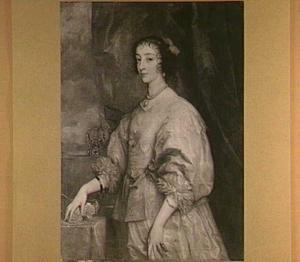 Portret van Henriëtta Maria de Bourbon (1609-1669), koningin van Engeland
