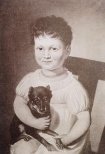 Portret van Dina Adriana Nederburgh (1817-1892)