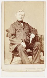 Portret van Willem Hermanus Kerkhoven (1804- )