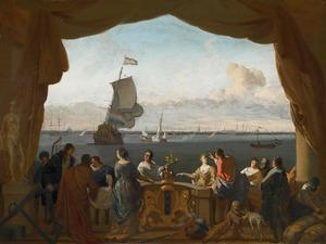 Allegorie op de handel van Amsterdam