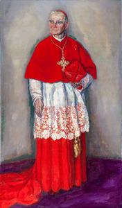 Portret van kardinaal W.M. van Rossum (1854-1932)