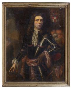 Portret van Johann Christian von Kretschmar und Flamischdorf (1650-1693 )