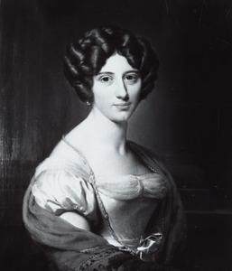 Portret van Anna Adriana Cornelia van Halteren (1801-1874)