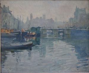 Damrak Amsterdam 1916