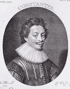 Portret van Constantijn Huygens (1596-1687)