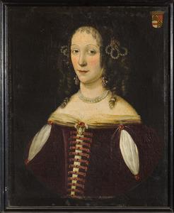 Portret van een vrouw genaamd Margaretha van Pallandt (....-....)
