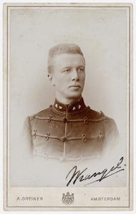 Portret van Eric Willem von Wrangel auf Lindenberg (1864-1945)