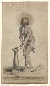 Christus aan de geselzuil (na de geseling)