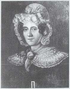Portret van Eduarda Thalia Eckringa (1786-1865)