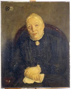 Portret van Albertina Izaa van Loghem (1841-1918)