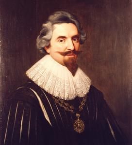 Portret van Philibert Vernatti (1590-1643)