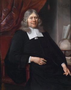 Portret van een geleerde heer