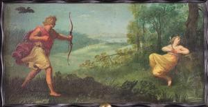 Apollo schiet Coronis dood