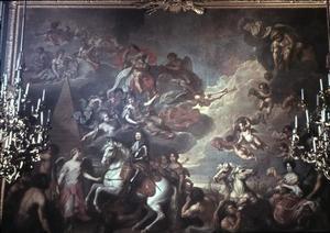 Allegorie op de verovering van Rügen door de Grote Keurvorst