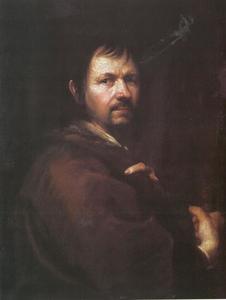 Zelfportret van Kupezky als pelgrim