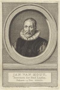 Portret van Jan van Hout (1542-1609)