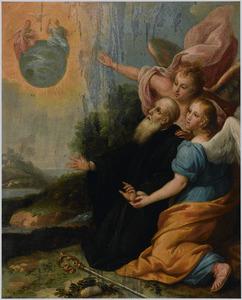 De H. Augustinus doorziet de ware aard van de H. Drieëenheid in een visioen