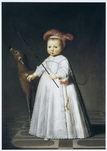 Portret van Dirck Alewijn (1644-1687)