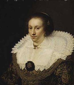 Portret van Maria Odilia Buys (....-1636)