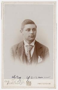 Portret van Arie IJzerman (1876-1936)