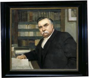 Portret van Gerardus Johannes Petrus Josephus Bolland 1854-1922