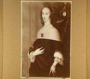 Portret van Johanna de Witt (1617-1692), zuster van Cornelis en Johan de Witt, echtgenote van Jacob van Beveren van Zwijndrecht