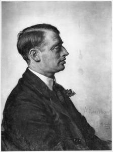 Portret van Albert Charles Auguste Plasschaert (1874-1941)