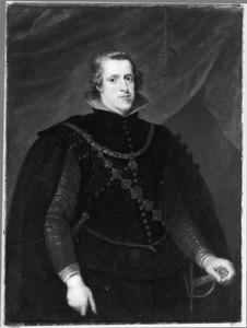 Portret van Philips IV, koning van Spanje (1605-1665)