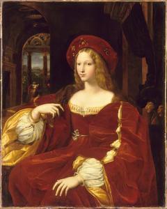 Portret van Doña Isabel de Requesens, (1500-1577) vice-reine van Napels