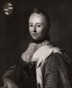 Portret van Cornelia Hillegonda van Schuylenburch (1723-1765)