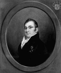 Portret van Jan Adriaan van Zuylen van Nijvelt (1776-1840)