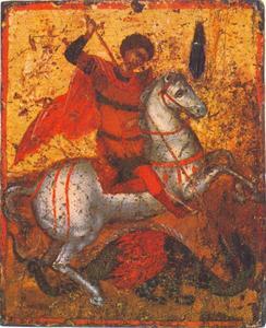 Sint Joris doodt de draak