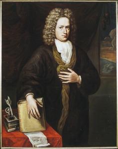 Portret van Abdias Hattinga (1664- )