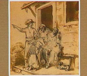 Jacob ziet Josefs bebloede rok (Genesis 37:31-35)