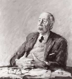 Portret van Jan Gerrit van Gelder (1903-1980)