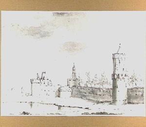 De Hezelpoort en Kronenburgertoren te Nijmegen