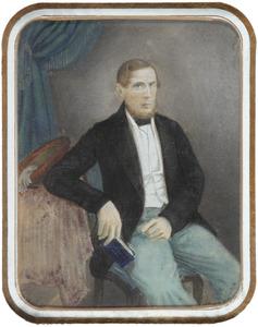 Portret van Rudolph Christiaan Carel van Hasselt (1818-1859)