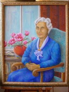 Portret van Cornelia van Lent (1920-1992)