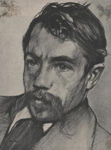 Portret van Johann Eduard Karsen (1860-1941)