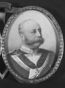 Portret van Wilhelm Carl Philipp Otto von Bentinck und Waldeck-Limpurg (1848-1912)